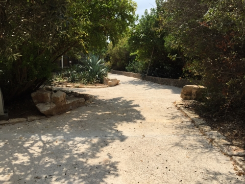 A renovated path